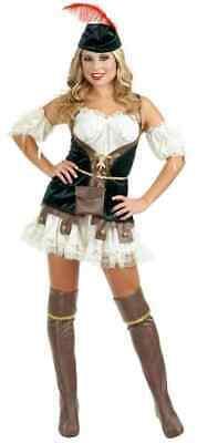 SEXY Halloween COSTUMES Womens ROBIN HOOD HONEY Adult  NEW Cosplay - Robin Womens Kostüm