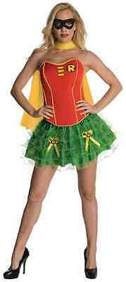 Robin Corset Batman Superhero Sidekick Fancy Dress Halloween Sexy Adult Costume](Halloween Batman And Robin Costumes)