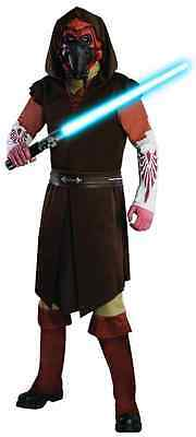Plo Koon Star Wars Clone Jedi Knight Fancy Dress Halloween Deluxe Adult Costume (Deluxe Jedi Knight Costume)
