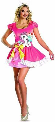 Sundance Sassy My Little Pony Pink Fancy Dress Up Halloween Sexy Adult Costume](Mlp Halloween Costumes)
