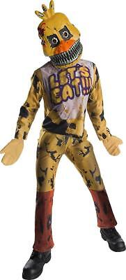 Nightmare Chica Five Nights Freddy's Fancy Dress Up Halloween Child - Nightmare Halloween Chica