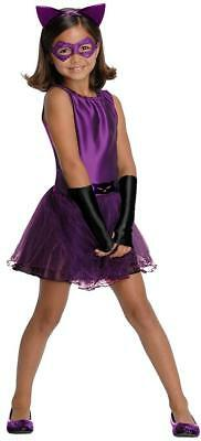 Catwoman Tutu Batman Gotham Most Wanted Fancy Dress Halloween Child Costume