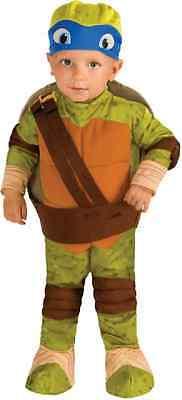 Leonardo TMNT Teenage Mutant Ninja Turtles Halloween Baby Toddler Child Costume](Teenage Baby Halloween Costume)