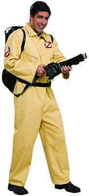 Ghostbusters Halloween Costumes Adults (Ghostbusters Jumpsuit 80's Ghost Hunter Exterminator Halloween Adult)
