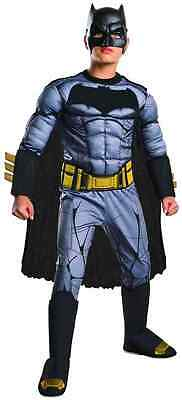 Batman vs Superman Superhero Movie Fancy Dress Halloween Deluxe Child Costume