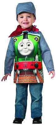 Thomas The Train Halloween Costumes (Percy Thomas the Tank Engine Train Fancy Dress Halloween Toddler Child)