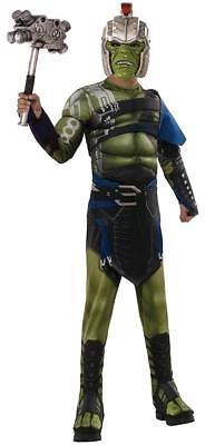 War Hulk Thor Ragnarok Superhero Fancy Dress Up Halloween Deluxe Child Costume