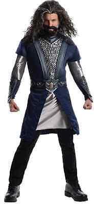 Thorin Oakenshield Hobbit Lord Rings Fancy Dress Halloween Deluxe Adult Costume