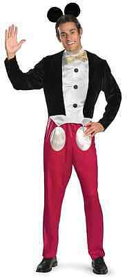Mickey Mouse Classic Disney Cartoon Fancy Dress Up Halloween Adult Costume - Mickey Mouse Halloween Costume Adult