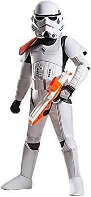 Super Trooper Costume Halloween (Stormtrooper Star Wars Trooper Fancy Dress Halloween Super Deluxe Child)