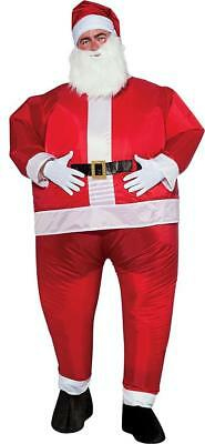 Inflatable Santa Claus Christmas Holiday Fancy Dress Up Halloween Adult Costume