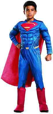 Superman Batman vs Superman Dawn Justice Fancy Dress Halloween Child Costume