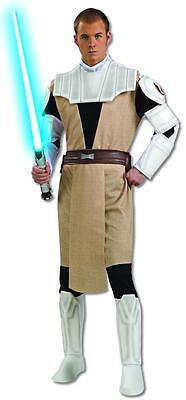 Obi-Wan Kenobi Star Wars Clone Jedi Fancy Dress Halloween Deluxe Adult Costume ()