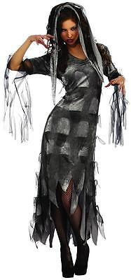 Zombie Mistress Gothic Undead Woman Fancy Dress Up Halloween Adult Costume - Zombie Dress Up Halloween Costumes