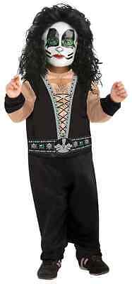 Catman KISS Band Peter Criss Rock Star Dress Up Halloween Toddler Child Costume