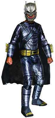 Armored Batman vs Superman Superhero Fancy Dress Up Halloween Child Costume