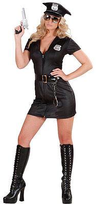 enkostüm NEU - Damen Karneval Fasching Verkleidung Kostüm (Damen Polizistin Kostüm)