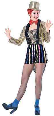 Columbia Rocky Horror Picture Show Drag Fancy Dress Up Halloween Adult Costume