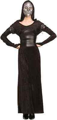 Bellatrix Lestrange Harry Potter Death Eater Fancy Dress Halloween Adult Costume](Harry Potter Death Eater Halloween Costumes)