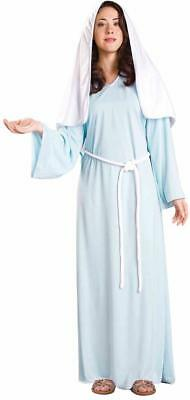 Lady of Faith Biblical Times Mary Christmas Fancy Dress Halloween Adult Costume - Biblical Halloween Costumes