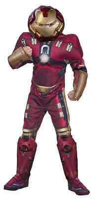 Hulk Buster Avengers Iron Man Superhero Fancy Dress Up Halloween Child Costume