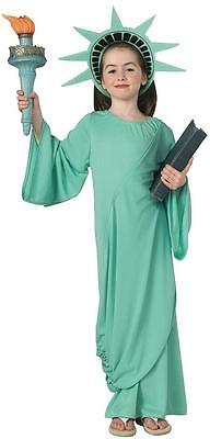 Statue of Liberty USA Patriotic July 4th Fancy Dress Up Halloween Child Costume (4th Of July Halloween Costumes)