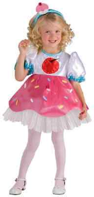 Cupcake Cutie Cookie Bakery Food Fancy Dress Up Halloween Toddler Child Costume](Baby Cupcake Halloween Costume)