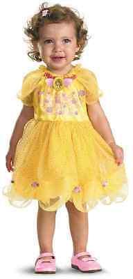 Belle Disney Princess Beauty Beast Fancy Dress Halloween Toddler Child Costume