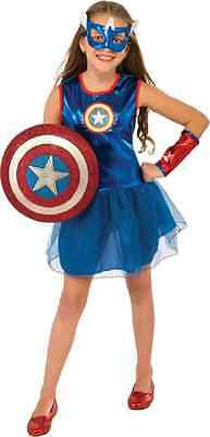 American Dream Marvel Captain America Fancy Dress Up Halloween Child Costume