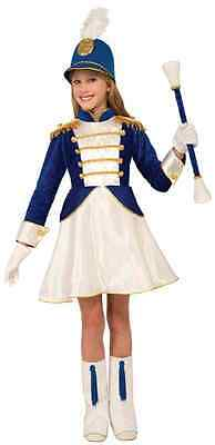 Drum Majorette Major Marching Band Fancy Dress Up Halloween Child Costume