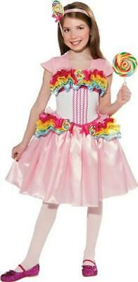 Katy Perry Costume (Lollipop Girl Katy Perry Candy Sweet Fancy Dress Up Halloween Child)