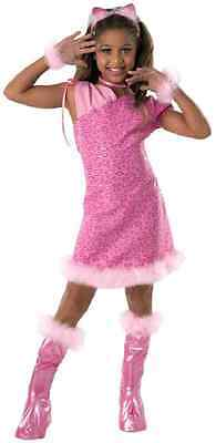 Alley Cat Leopard Cheetah Animal Pink Fancy Dress Up Halloween Child Costume