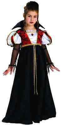 Royal Vampira Vampire Princess Queen Gothic Fancy Dress Halloween Child Costume