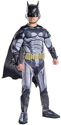 Batman Ultimate Armored vs Superman Fancy Dress Halloween Deluxe Child Costume