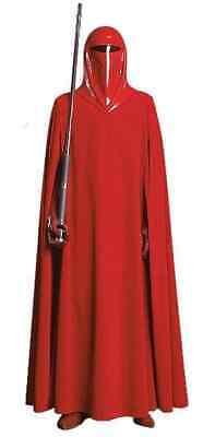 Wars Supreme Edition Collector Red Halloween Adult Costume (Star Wars Imperial Guard Kostüm)