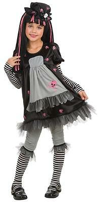 Gothic Raggedy Ann Halloween Costumes (Goth Doll-ista Gothic Rag Doll Raggedy Ann Fancy Dress Halloween Child)