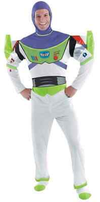 Buzz Lightyear Toy Story Astronaut Fancy Dress Up Halloween Deluxe Adult Costume