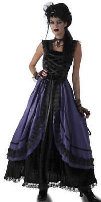 Purple Poison Gothic Witch Zombie Ghost Fancy Dress Up Halloween Adult Costume - Zombie Dress Up Halloween Costumes