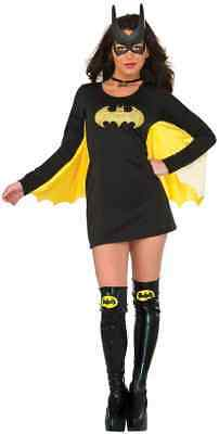 Batgirl Wing Dress DC Comics Superhero Fancy Dress Up Halloween Adult Costume