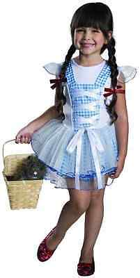 Dorothy Tutu Wizard Oz Country Girl Fancy Dress Halloween Toddler Child Costume