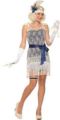 Gold Coast Socialite Roaring 20's Flapper Fancy Dress Up Halloween Adult Costume