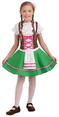Gretel Oktoberfest German Beer Garden Fancy Dress Up Halloween Child Costume