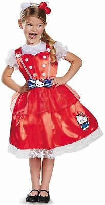 Hello Kitty Size M Sanrio Halloween Deluxe Child Costume kids childrens dress](Hello Kitty Halloween Costume Child)