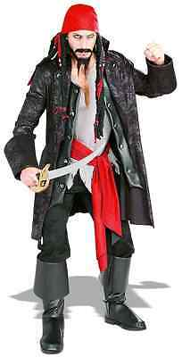 Captain Cutthroat Pirate Caribbean Buccaneer Fancy Dress Halloween - Captain Cutthroat Kostüme