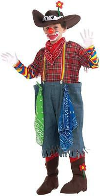 Rodeo Clown Circus Carnival Hobo Fancy Dress Up Halloween Child Costume