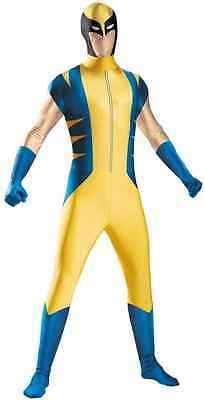 Wolverine Bodysuit Marvel X-Men Superhero Fancy Dress Up Halloween Child Costume