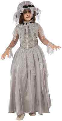 Victorian Ghost Spirit Dead Little Designer Fancy Dress Halloween Child Costume