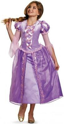 Rapunzel Costume Teenager (Rapunzel Tangled Disney Princess Fancy Dress Halloween Teen Child)