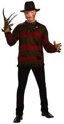 Freddy Krueger Deluxe Sweater A Nightmare on Elm Street Adult Halloween Costume - Halloween Costumes Freddy Krueger