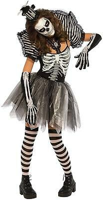 ll Bones Voodoo Day Dead Fancy Dress Halloween Adult Costume (Dancing Halloween-kostüme)